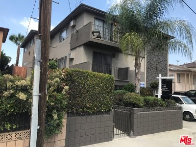 Los Angeles Multi Family Home For Sale: 1150 Sunvue Place