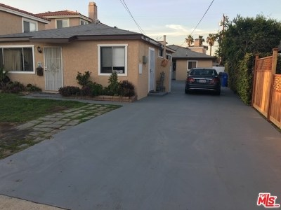 Redondo Beach Multi Family Home For Sale: 2203 Warfield Avenue
