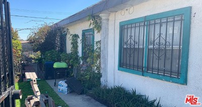 Los Angeles Multi Family Home For Sale: 12201 Avalon