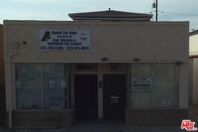 Inglewood Multi Family Home For Sale: 8011 S Van Ness Avenue