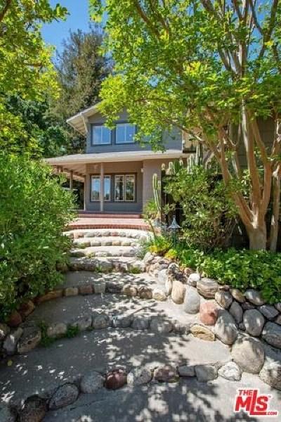 Topanga Single Family Home For Sale: 1375 Fernwood Pacific Drive