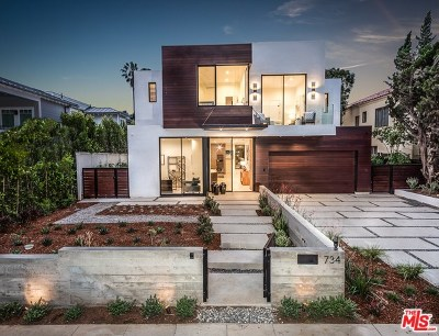 Santa Monica Single Family Home For Sale: 734 18th Street