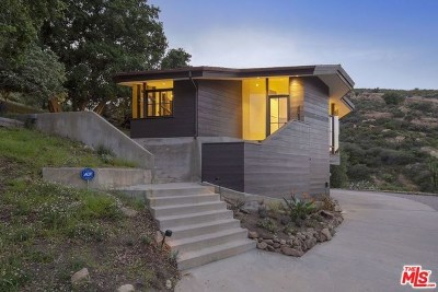Topanga Single Family Home For Sale: 1875 Tuna Canyon Road