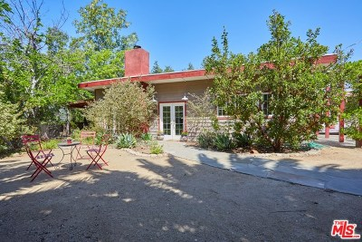 Topanga Single Family Home Active Under Contract: 1128 Canyon Trail