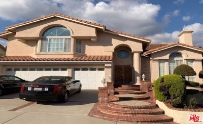Yorba Linda Single Family Home For Sale: 20455 Via Canarias