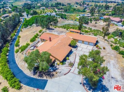Temecula Single Family Home For Sale: 41330 Parado Del Sol Drive
