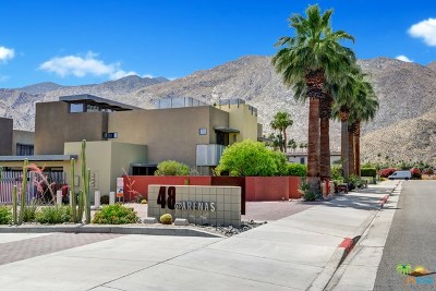 Palm Springs Condo/Townhouse For Sale: 743 E Arenas Road