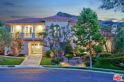 Brentwood, Calabasas, West Hills, Woodland Hills Single Family Home For Sale: 25002 Prado De Los Pajaros