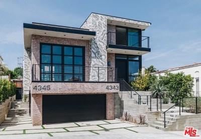 Single Family Home For Sale: 4345 Clarissa Avenue