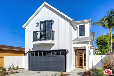 Venice Single Family Home For Sale: 1149 Palms