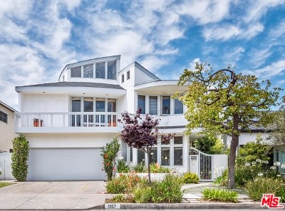 Santa Monica Single Family Home For Sale: 1307 Ozone Avenue