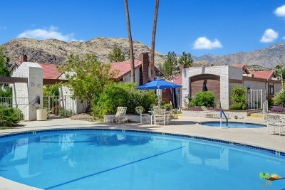 Palm Springs Condo/Townhouse For Sale: 2441 S Gene Autry Trail #C