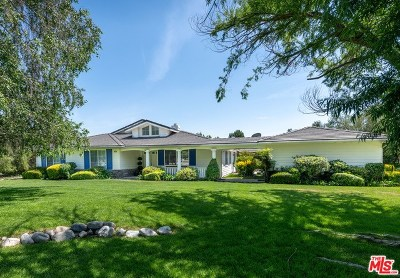 Castaic Single Family Home For Sale: 30014 Sharp Road