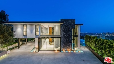 Single Family Home For Sale: 1677 N Doheny Drive