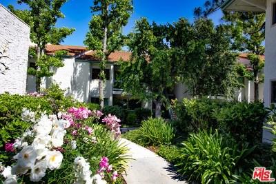Calabasas Condo/Townhouse For Sale: 23663 Park Capri #129