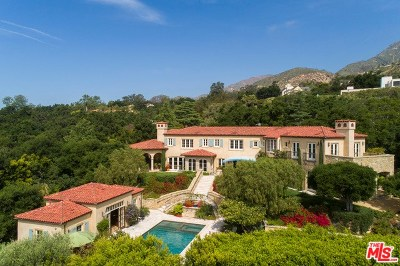 Santa Barbara Single Family Home For Sale: 799 Lilac Drive