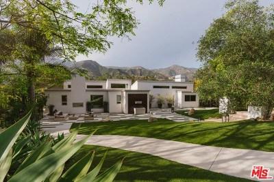 Santa Barbara Single Family Home For Sale: 36 Canon View Road