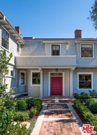 Santa Barbara Single Family Home For Sale: 340 E Los Olivos Street