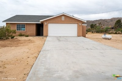 Joshua Tree CA Single Family Home For Sale: $329,900