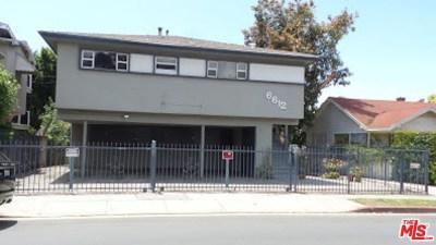 Los Angeles County Multi Family Home For Sale: 6612 W De Longpre Avenue