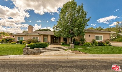 Los Angeles County Single Family Home For Sale: 16060 Comet Way