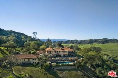 Santa Ynez Single Family Home For Sale: 3420 Brinkerhoff Avenue