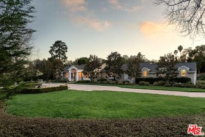 Santa Barbara Single Family Home For Sale: 2760 Sycamore Canyon Road