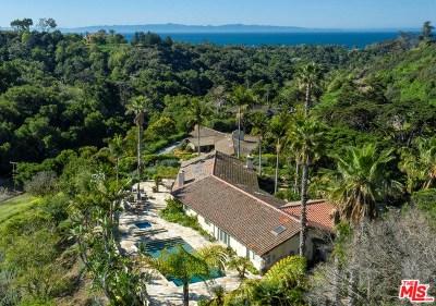Santa Barbara Single Family Home For Sale: 970 Via Fruteria