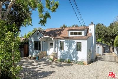 Santa Barbara Single Family Home For Sale: 653 Romero Canyon Road