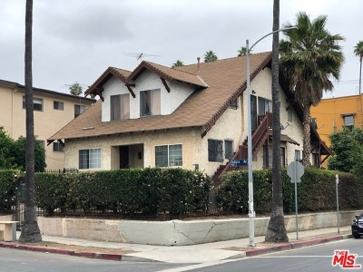 Los Angeles Multi Family Home For Sale: 936 Fedora Street