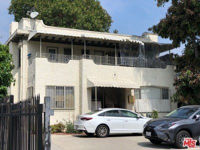 Los Angeles Multi Family Home For Sale: 231 S Alexandria Avenue