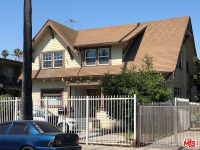 Los Angeles Multi Family Home For Sale: 909 Fedora Street