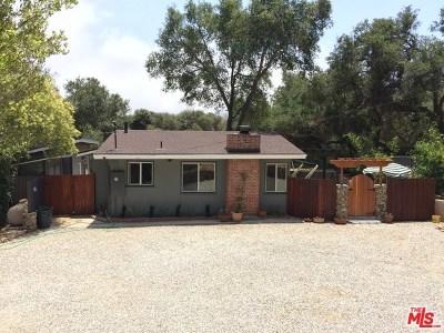 Topanga Single Family Home For Sale: 21620 Circle Trail