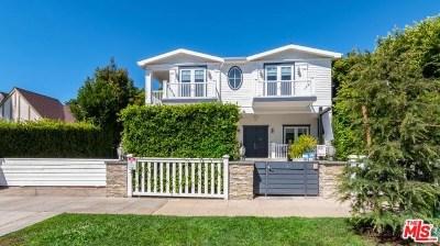 Santa Monica Single Family Home For Sale: 229 19th Street