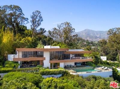 Santa Barbara Single Family Home For Sale: 811 Camino Viejo