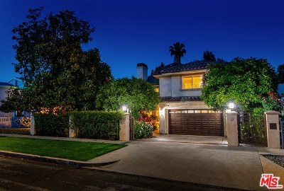 Sherman Oaks Single Family Home For Sale: 4238 Colbath Avenue