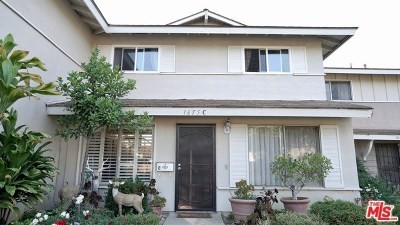 Rowland Heights Condo/Townhouse For Sale: 1675 Greencastle Avenue #C