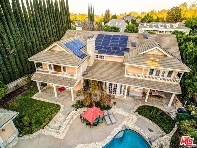 Brentwood, Calabasas, West Hills, Woodland Hills Single Family Home For Sale: 4645 Westchester Drive