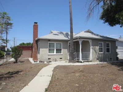 North Hollywood Single Family Home For Sale: 8001 Bellingham Avenue