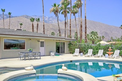 Palm Springs Single Family Home For Sale: 1960 S Ana Maria Way