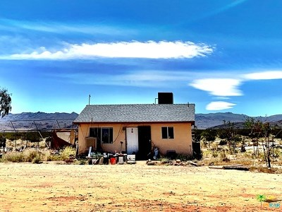 Joshua Tree Single Family Home For Sale: 66855 Winters Road