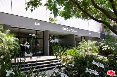 West Hollywood Condo/Townhouse For Sale: 850 Kings Road #101