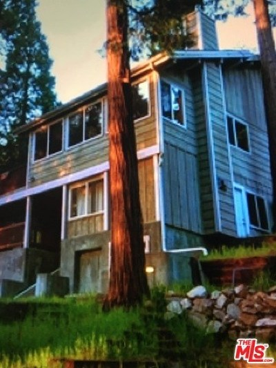 Lake Arrowhead Single Family Home For Sale: 308 Grass Valley Road