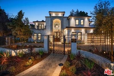 Tarzana Single Family Home For Sale: 4870 Vanalden Avenue