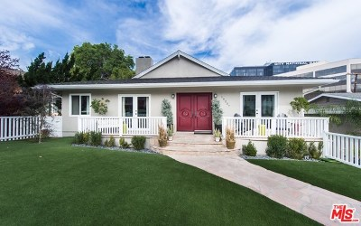 Encino Single Family Home For Sale: 16207 Dickens Street