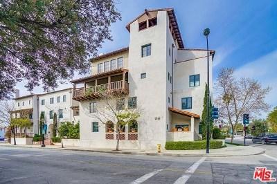 Pasadena Condo/Townhouse For Sale: 700 E Union Street #102