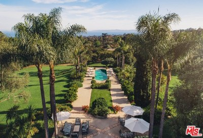 Santa Barbara Single Family Home For Sale: 691 Picacho Lane