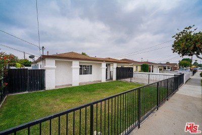 Hawthorne Single Family Home For Sale: 3338 W 147th Street