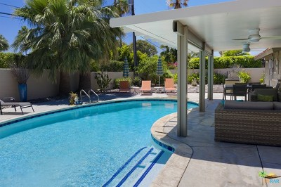Palm Springs Single Family Home For Sale: 400 N Orchid Tree Lane