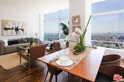 Los Angeles County, Orange County Condo/Townhouse For Sale: 900 W Olympic Boulevard #28E